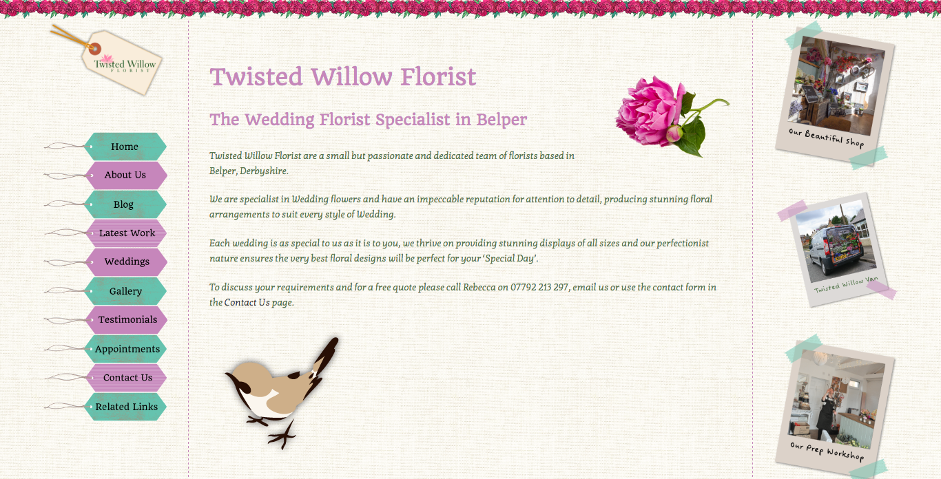 Twisted Willow Florist Recent Work