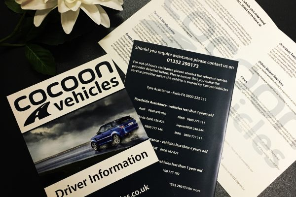A4 Folded Leaflets – Cocoon Vehicles