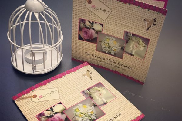 8 Page Stapled Brochures – Twisted Willow Florist