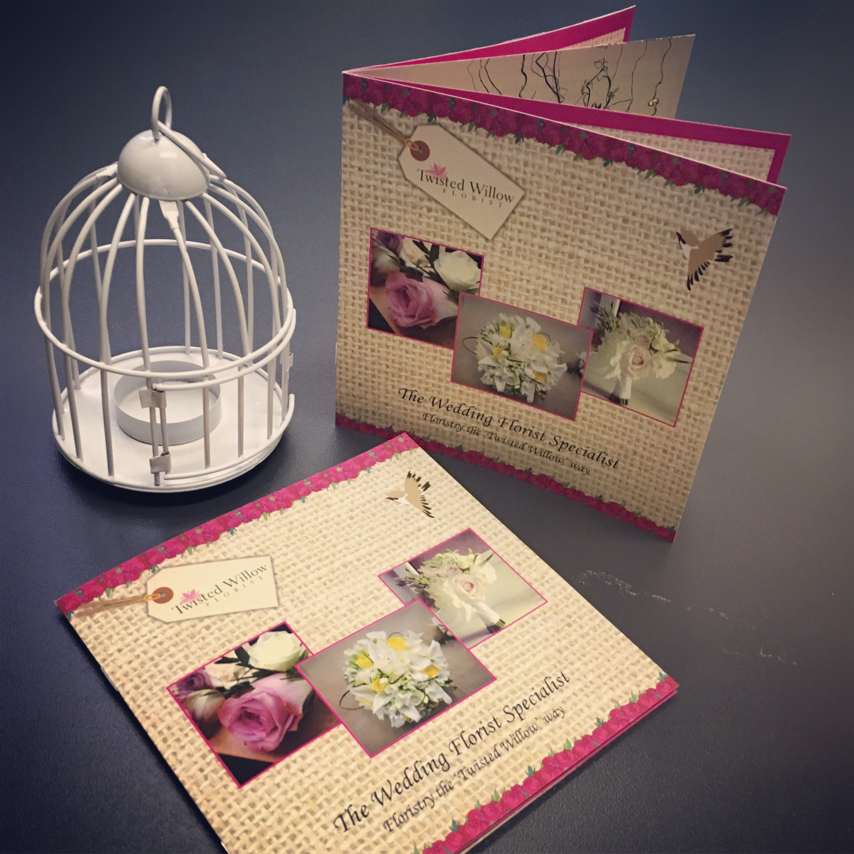8 Page Stapled Brochures - Twisted Willow Florist