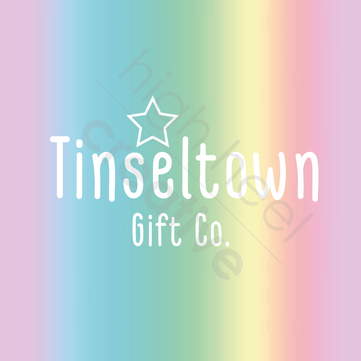 logo design - tinseltown gift co.