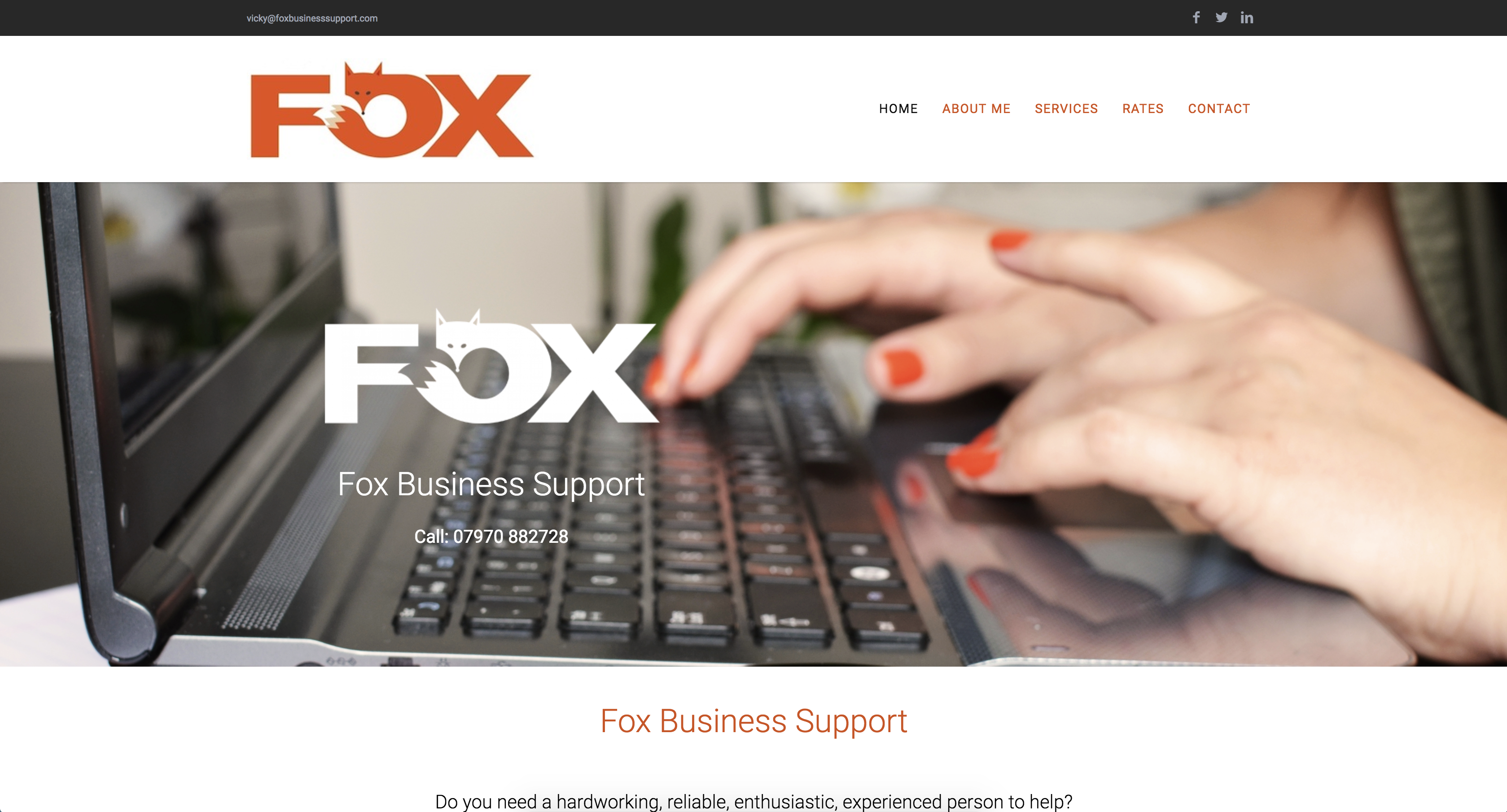 fox business support homepage